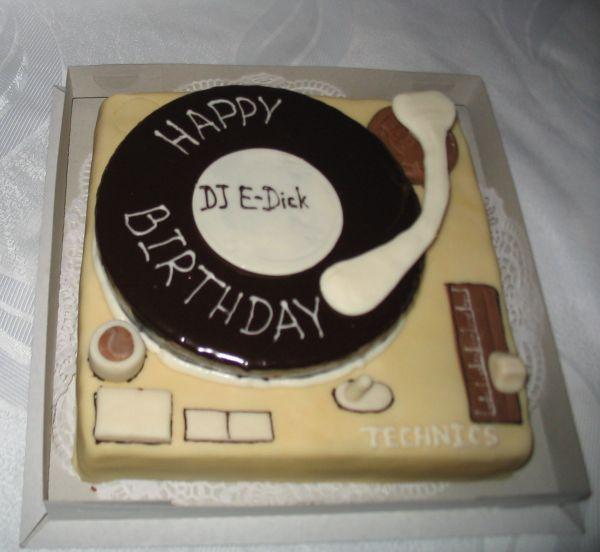 Поздравление с днем рождения диджея
